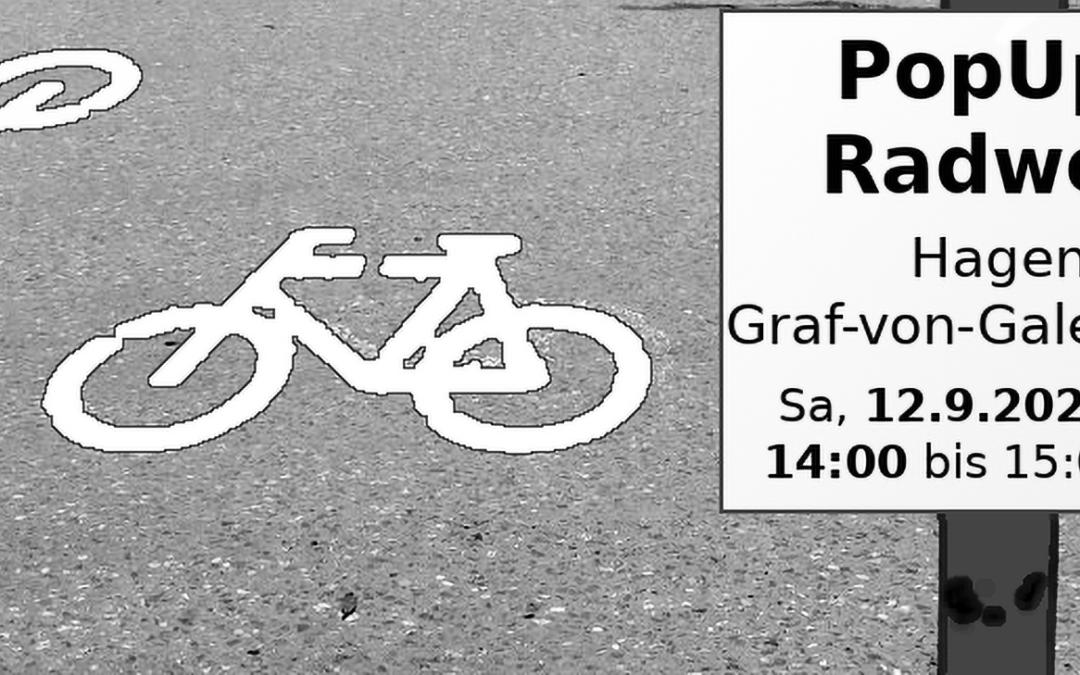Fahrrad-Demo in Hagen