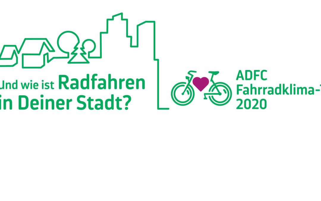 Fahrradklimatest des ADFC – Mitmachen!